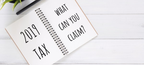 BLOG - 2019 What can I claim against my tax?